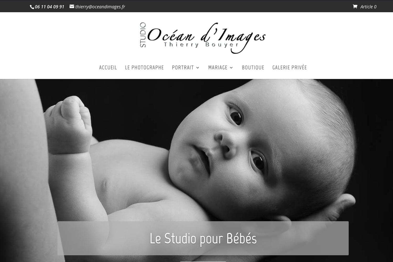 webmaster La Rochelle création de sites internet photographe