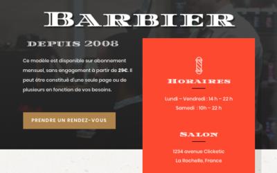 Salon Barbier – Demo